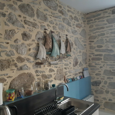 Joints pierre intérieurs Appartement intra muros St-Malo