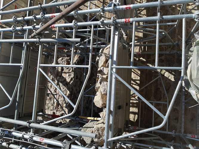 Réparation d''un pignon de maison - Saint-Malo 20190326141744
