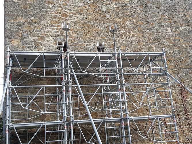 Réparation d''un pignon de maison - Saint-Malo 0