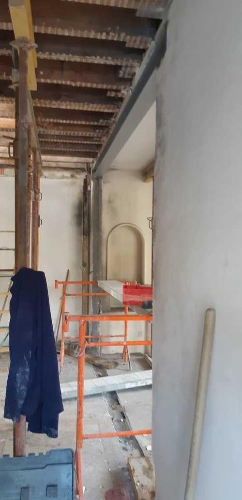 Rénovation d''une maison : ouverture sur mur porteur - Saint-Malo (35) 87283466816698125493444202195798891429888n