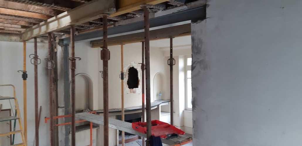 Rénovation d''une maison : ouverture sur mur porteur - Saint-Malo (35) 0