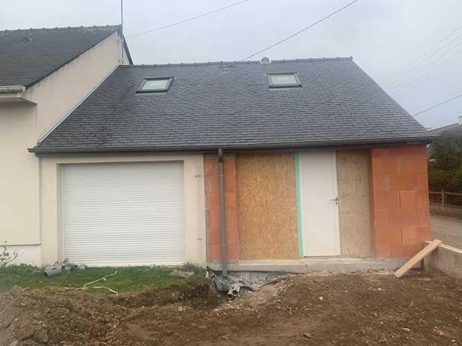 Extension maison en bio brique - Saint Briac img1433