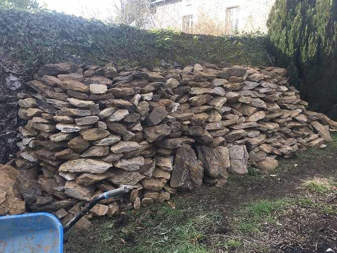 Rénovation de l''extension d''une maison en pierre img1471