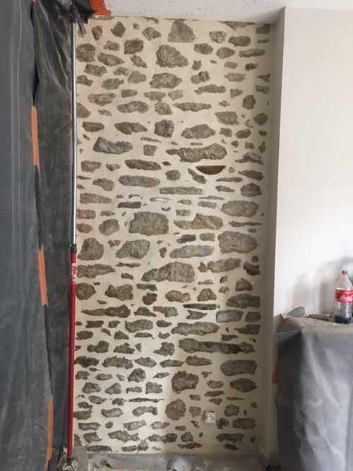 Rénovation de joints pierre et badigeons intérieurs img1636