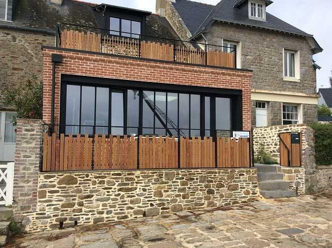 Rénovation et maçonnerie d''une maison bord de mer - Port de la Richardais img0176