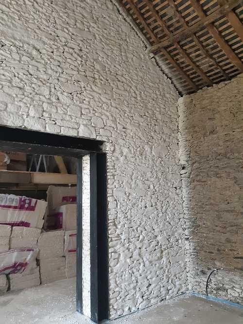Badigeon à la chaux dans un atelier - Ille et Vilaine (35) 0